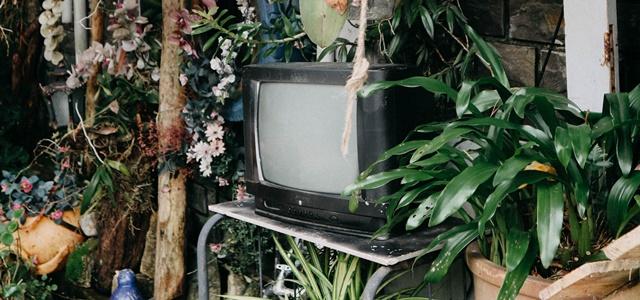 ジブリの世界にあるテレビ