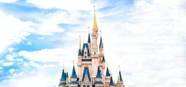 ディズニーのシンデレラ城
